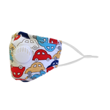 Cotton Kid Fashion Mask with Filter 12pcs / pack (NB-015)