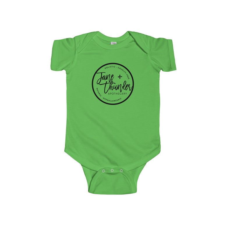 Jane and Thunder Logo Infant Fine Jersey Bodysuit
