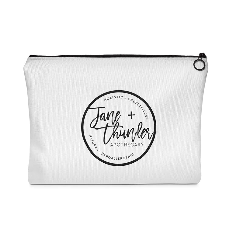 Thunder bolt Jane and Thunder Essential oil bag / Carry All Pouch - Flat
