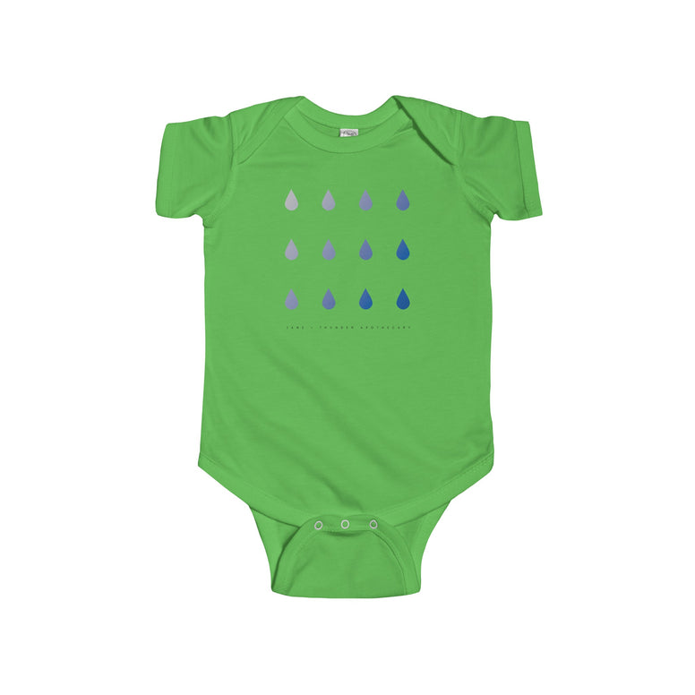 Rain Drops Infant Fine Jersey Bodysuit