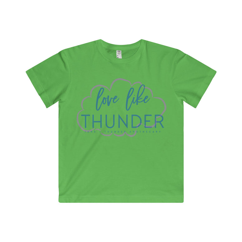Love Like Thunder Cloud Kid's Fine Jersey Tee