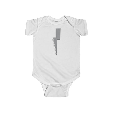 Thunder bolt Infant Fine Jersey Bodysuit