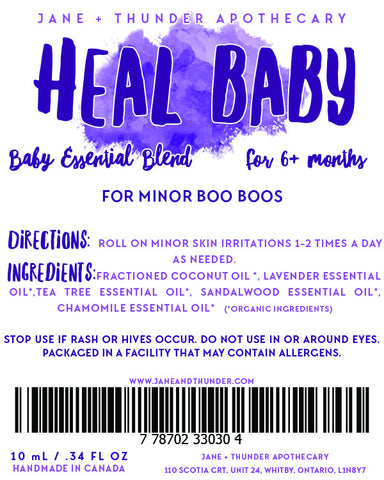 Heal Baby Essential Oil Blend