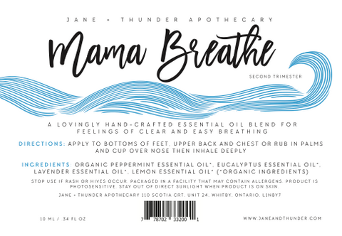 Mama Breathe Essential Oil Blend