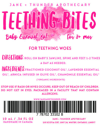 Teething Bites Essential Oil Blend