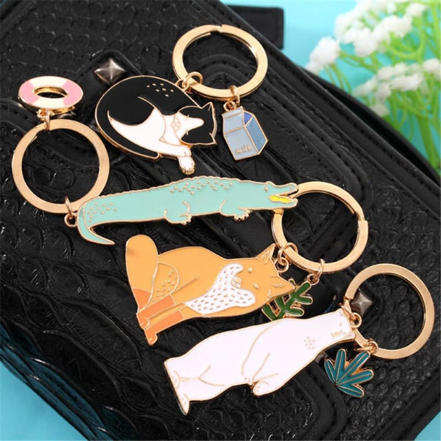 Animal Friend Keychain - Shop Minu (keychain) Korean Aesthetic Apparel & Accessories