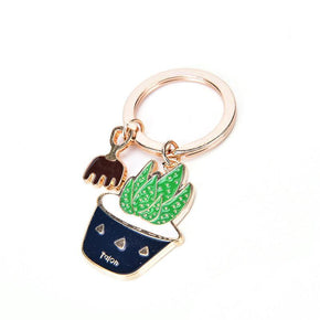 Cactus Keychain - Shop Minu (keychain) Korean Aesthetic Apparel & Accessories