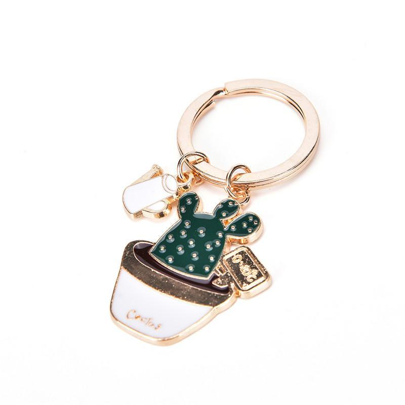 Cactus Keychain - Shop Minu (keychain) Korean Aesthetic Asian Women's Fashion