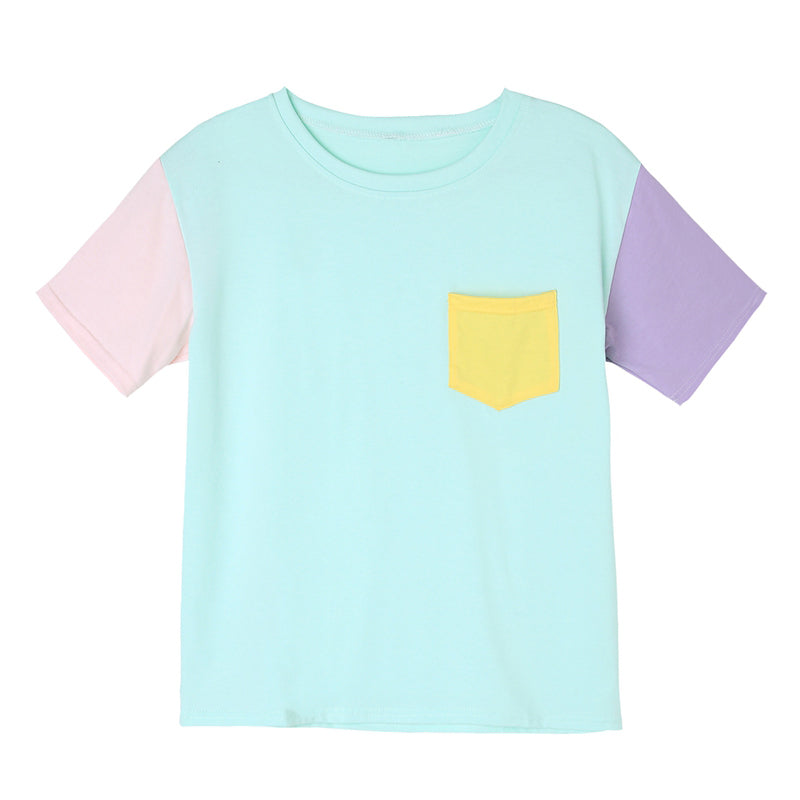 Pastel Tee - Shop Minu (shirt) Korean Aesthetic Asian Women's Fashion