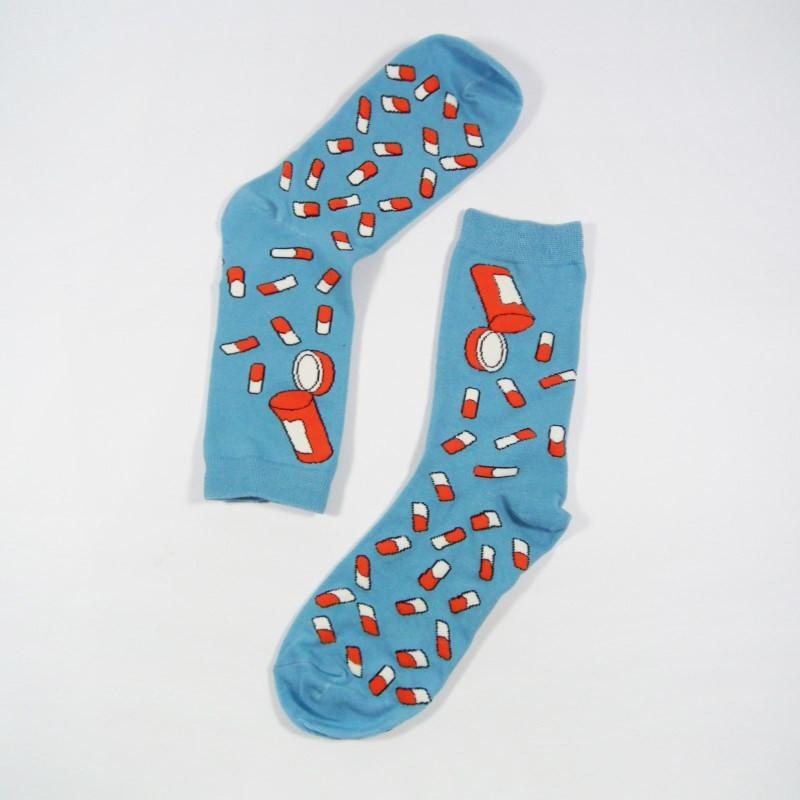 Pill Socks - Shop Minu (socks) Korean Aesthetic Apparel & Accessories