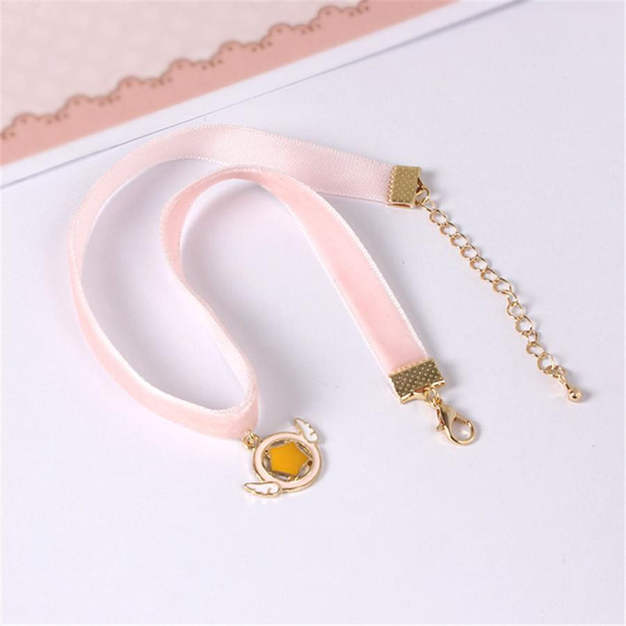 Pink Velvet Choker - Shop Minu (necklace) Korean Aesthetic Apparel & Accessories
