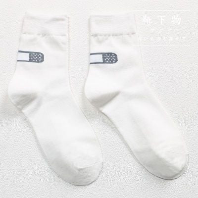 Band Aid Socks - Shop Minu (socks) Korean Aesthetic Apparel & Accessories