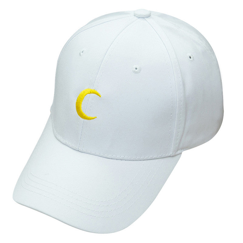 Crescent Moon Hat - Shop Minu (hat) Korean Aesthetic Apparel & Accessories
