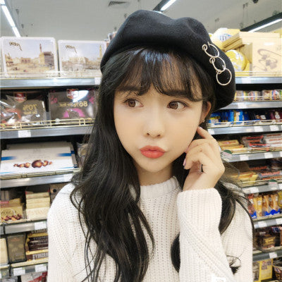 Ring Beret - Shop Minu (hat) Korean Aesthetic Asian Women's Fashion
