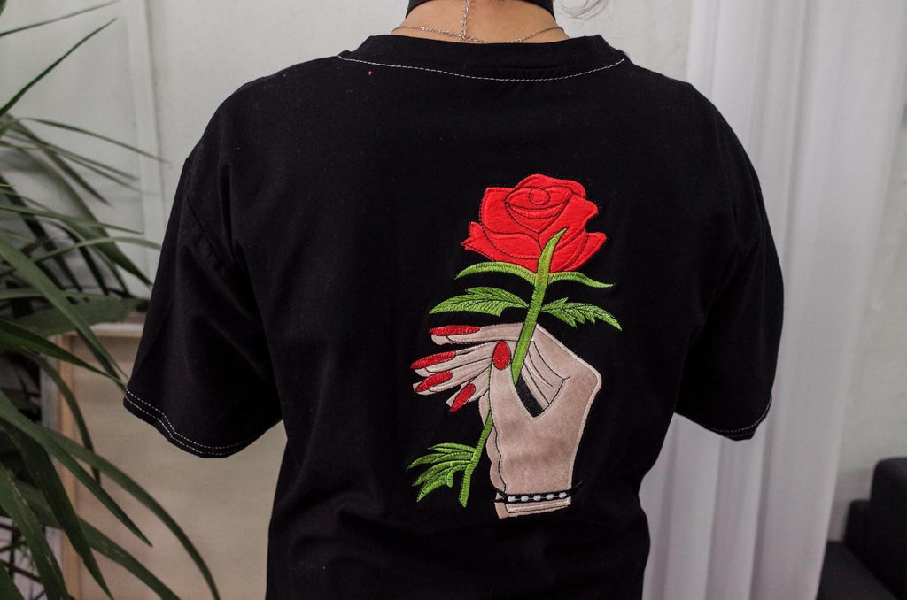 Rosy T-Shirt - Shop Minu (shirt) Korean Aesthetic Apparel & Accessories