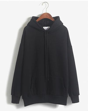 Basic Hoodie - Shop Minu (hoodie) Korean Aesthetic Apparel & Accessories