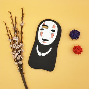 No Face Phone Case - Shop Minu (case) Korean Aesthetic Apparel & Accessories