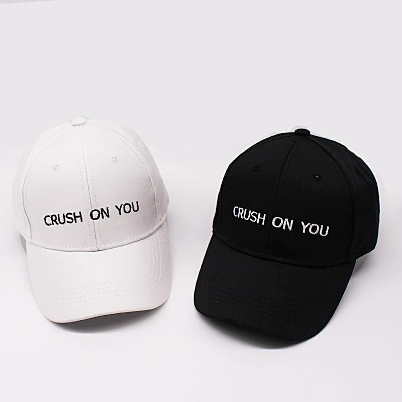 Crush On You Dad Hat - Shop Minu (hat) Korean Aesthetic Apparel & Accessories