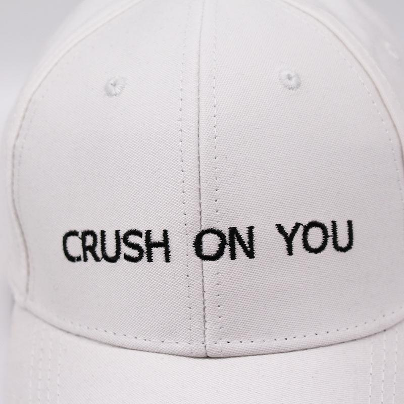 Crush On You Dad Hat - Shop Minu (hat) Korean Aesthetic Asian Women's Fashion