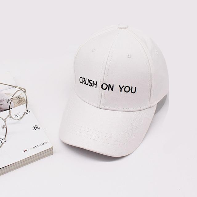 Crush On You Dad Hat - Shop Minu (hat) Korean Aesthetic Apparel    Accessories 7cd05a0a28f0