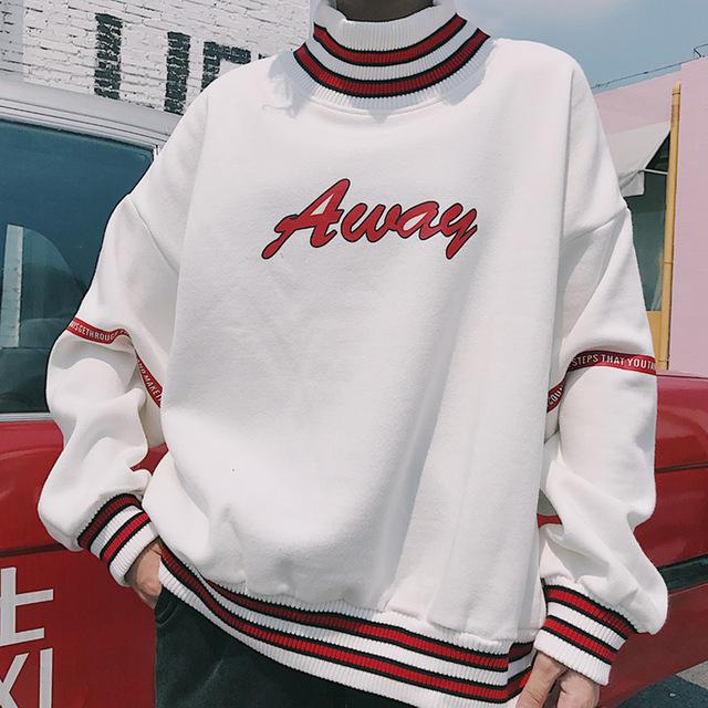Away Sweater - Shop Minu (sweatshirt) Korean Aesthetic Asian Women's Fashion