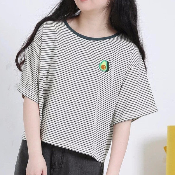 Avocado T-Shirt - Shop Minu (shirt) Korean Aesthetic Apparel & Accessories