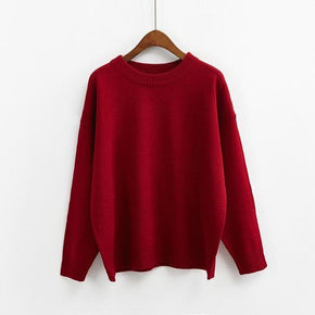 Heart Elbow Sweater - Shop Minu (sweater) Korean Aesthetic Asian Women's Fashion