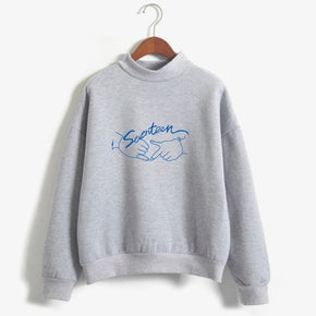 Seventeen Kpop Sweatshirt - Shop Minu (sweatshirt) Korean Aesthetic Apparel & Accessories
