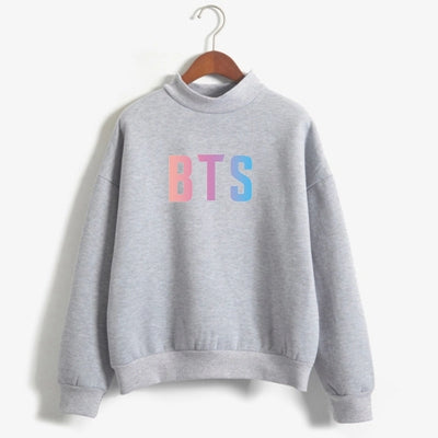 BTS Kpop Pastel Gradient Sweatshirt - Shop Minu (sweatshirt) Korean Aesthetic Apparel & Accessories