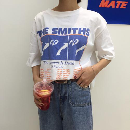 The Smiths Vintage Style T-Shirt - Shop Minu (shirt) Korean Aesthetic Apparel & Accessories