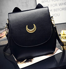 Crescent Moon Backpack - Shop Minu (bag) Korean Aesthetic Apparel & Accessories