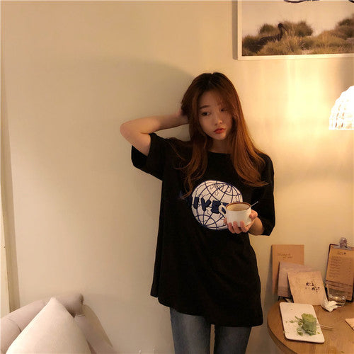 Universal Tee - Shop Minu (shirt) Korean Aesthetic Asian Women's Fashion