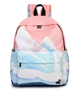 Landscape Backpack - Shop Minu (bag) Korean Aesthetic Apparel & Accessories
