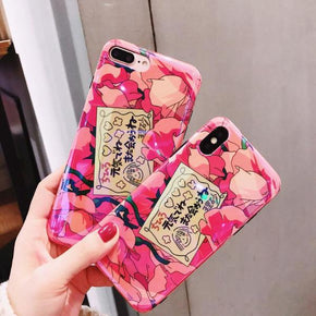 Spirited Away Roses iPhone Case - Shop Minu (case) Korean Aesthetic Asian Women's Fashion