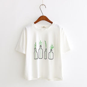Vase T-Shirt - Shop Minu (shirt) Korean Aesthetic Apparel & Accessories