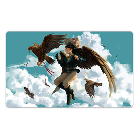 Dream of the Eagle Hunter Playmat