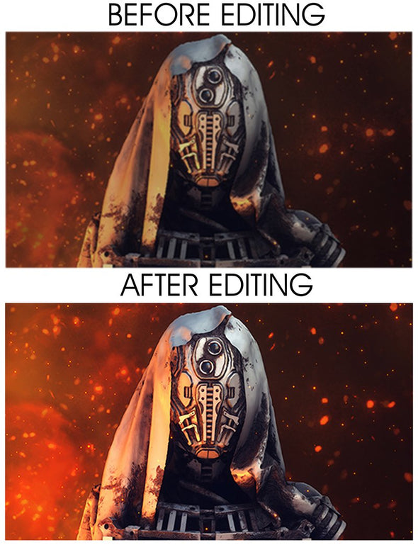 50% OFF Premium Editing -Special Deal