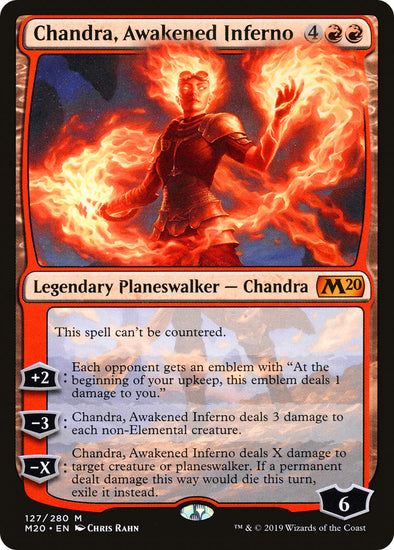 Chandra Awakened Inferno [Core set 2020]