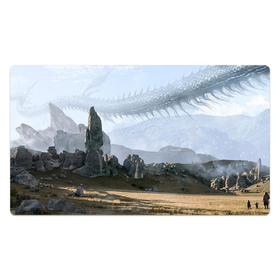 Flying Serpent In The Sky Mouse Pad