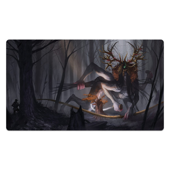 Forest Beast Mouse Pad