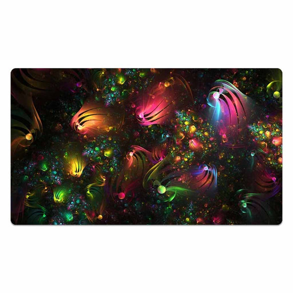 Hexagonal Spheres' Explosion Mouse Pad