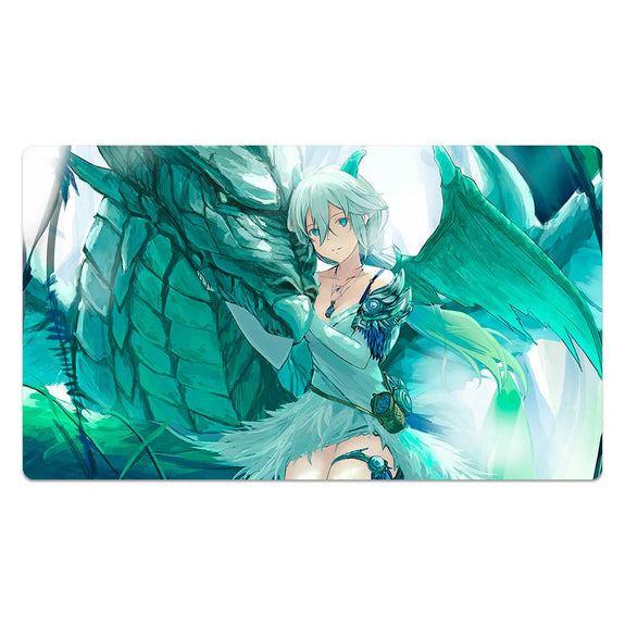 Sexy Dragon Girl Mouse Pad