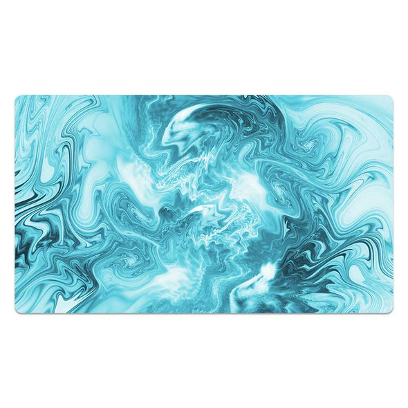 Strata Liquid Blue Version One Playmat