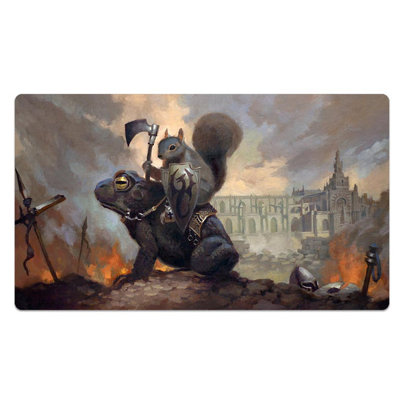 The Toad Rider Warrior Playmat
