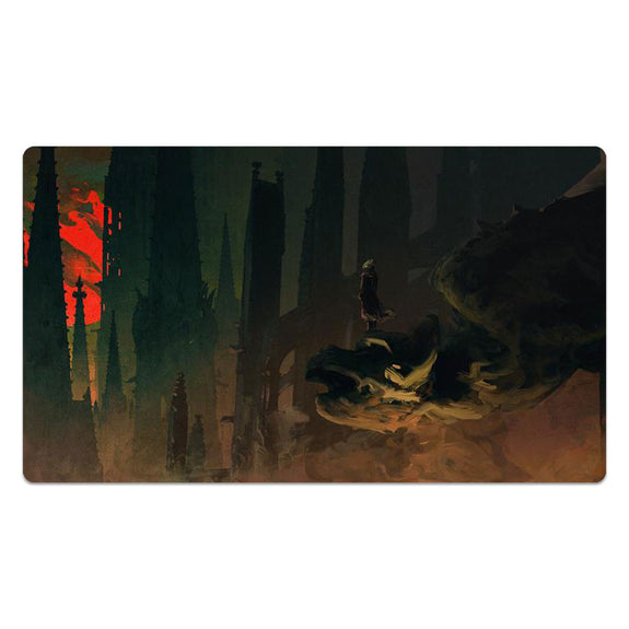 Under The Bloody Moon Playmat