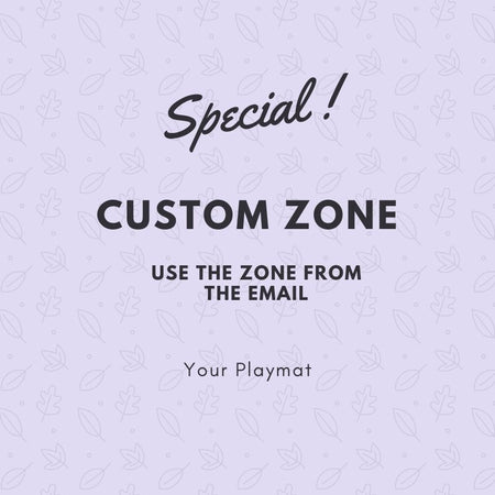 Custom zone (Use zone from email)