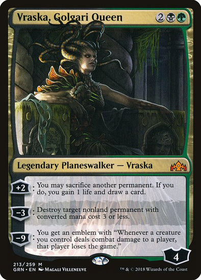 Vraska, Golgari Queen [Guilds of Ravnica]