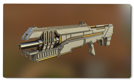 War Rifle Playmat