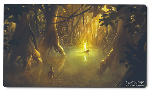 Goddess Of The Forest Playmat