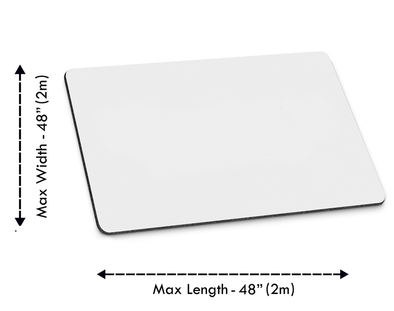 17.5 inches x 32 inches Custom Mouse Pad